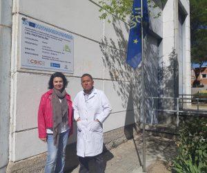 Carlos Antezana García from Universidad Técnica de Oruro visits us