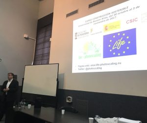 Ángel Castillo presents LIFE Photoscaling in Buenos Aires (Argentina)