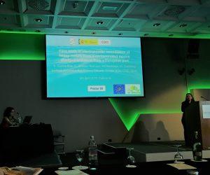 Nieves García-Blas presents LIFE Photoscaling in 11th International SedNet Conference