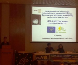 LIFE Photoscaling presented in the LIFE MiNOx closing event